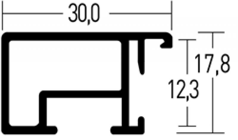 Aluminium lijsten - Nielsen Serie 069