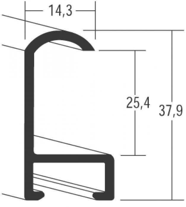 Aluminium lijsten - Nielsen Serie 071