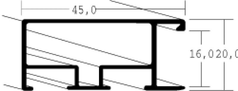 Aluminium lijsten - Nielsen Serie 079