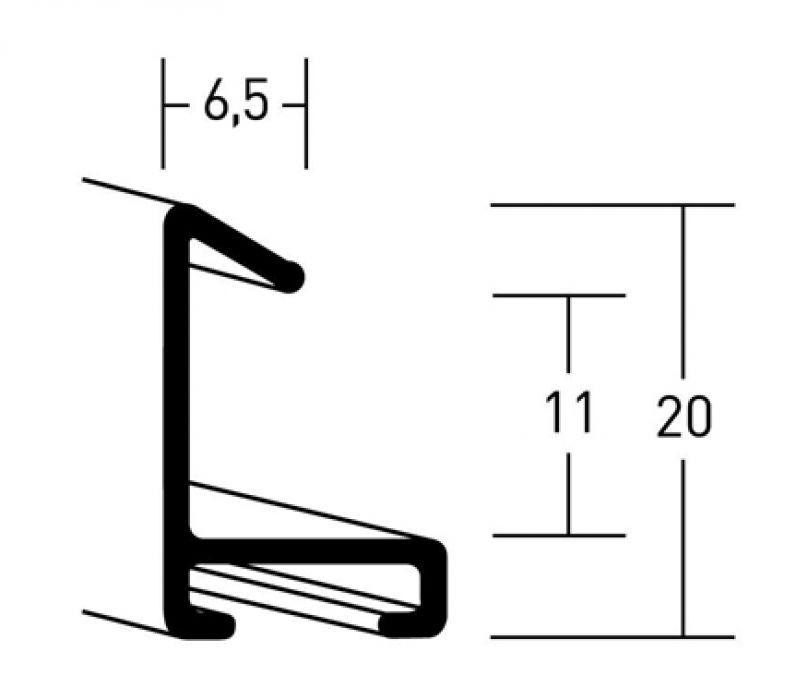 Aluminium lijsten- Nielsen Serie 217