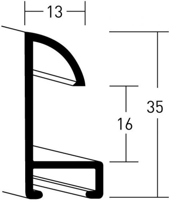 Aluminium lijsten- Nielsen Serie 24
