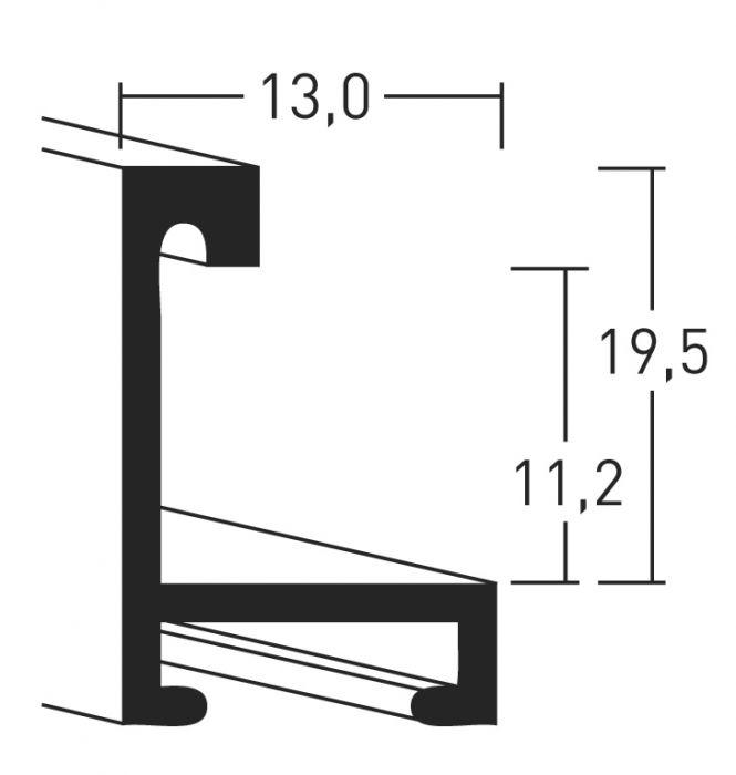 Aluminium lijsten - Nielsen Serie 273
