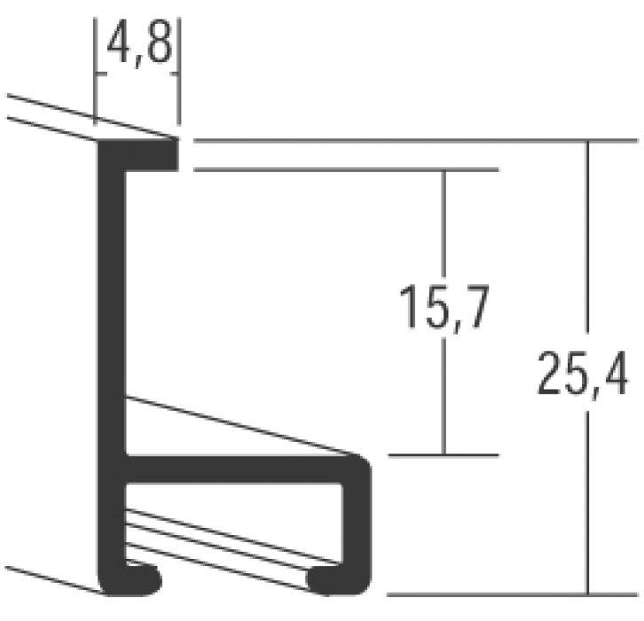 Aluminium lijsten - Nielsen Serie 33