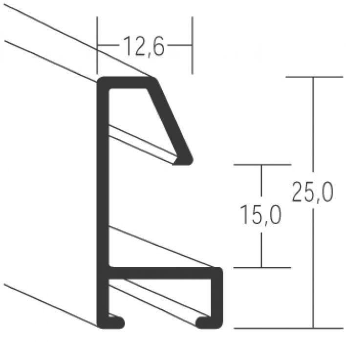 Aluminium lijsten- Nielsen Serie 53