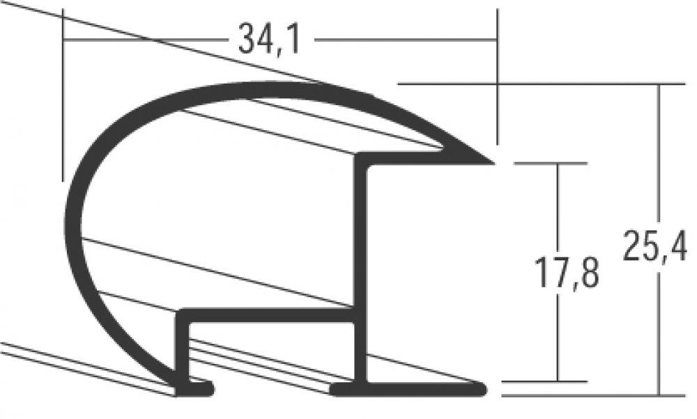 Aluminium lijsten - Nielsen Serie 85