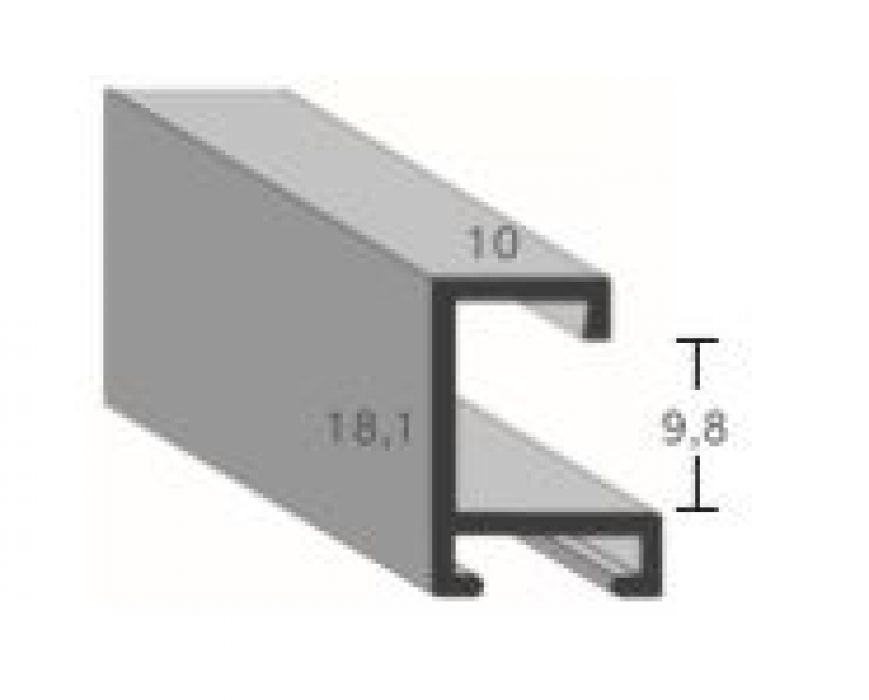 Aluminium lijsten profiel 403
