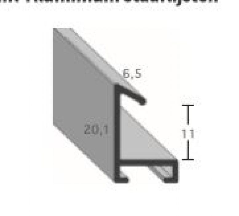 Aluminium lijsten profiel 421