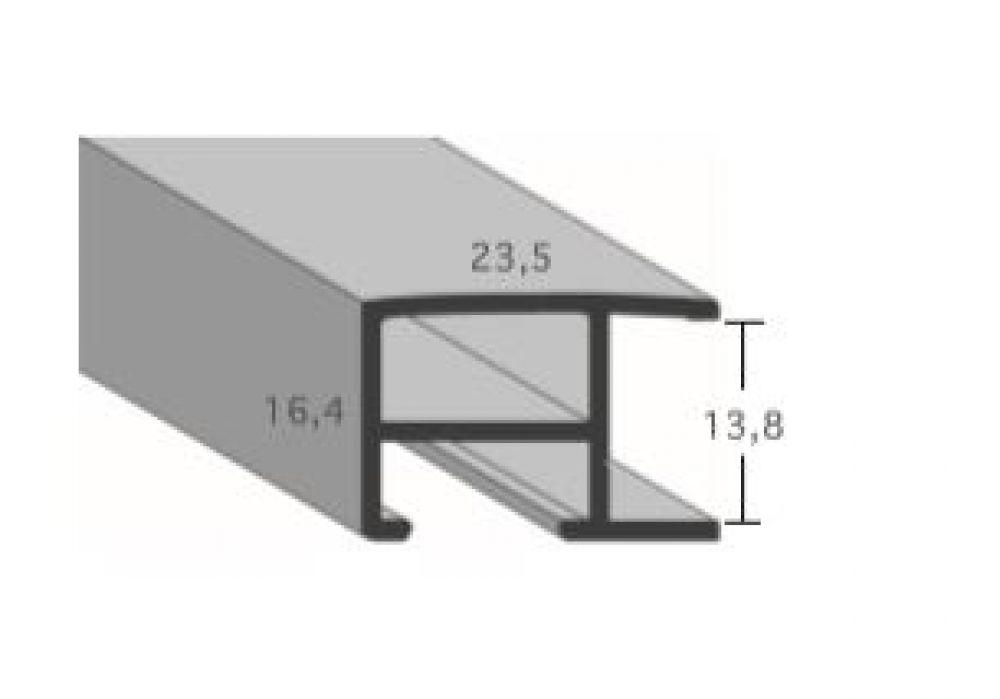 Aluminium lijsten profiel 462