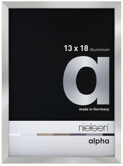 Nielsen Aluminium wissellijst Alpha anti-reflecterend glas ( True Color )