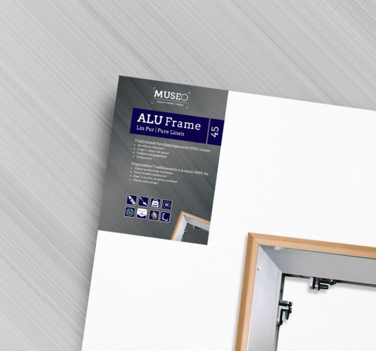 Schildersdoek Linnen op Aluminium Frame 45 mm