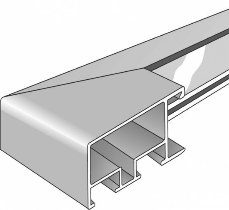 Aluminium lijst - NIELSEN - Profiel 79 - Nikkel 79-257