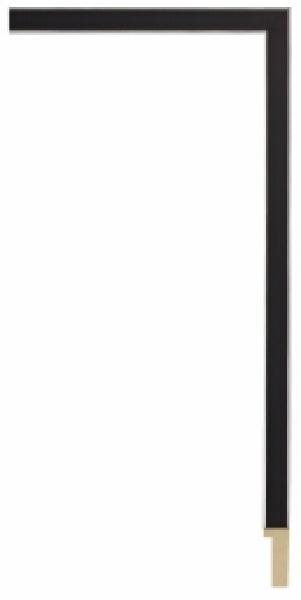 Houten lijst - GRAMERC Black breed 14 mm