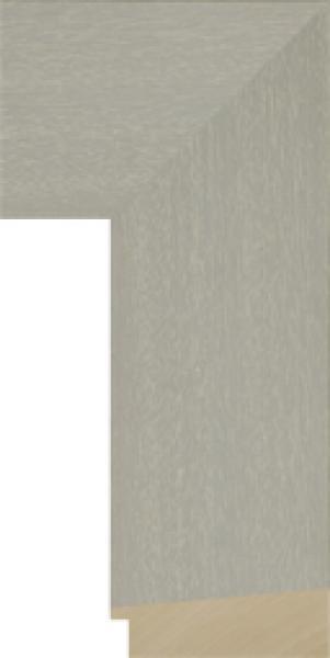 Modern schilderijlijst op maat groenbreed 100 mm