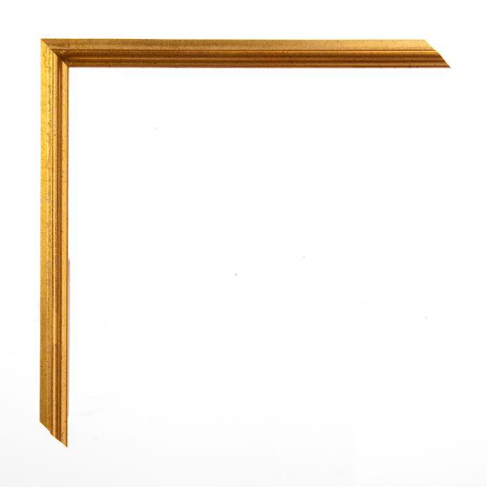Houten lijst -  ACADEMIE - Gold breed 18 mm