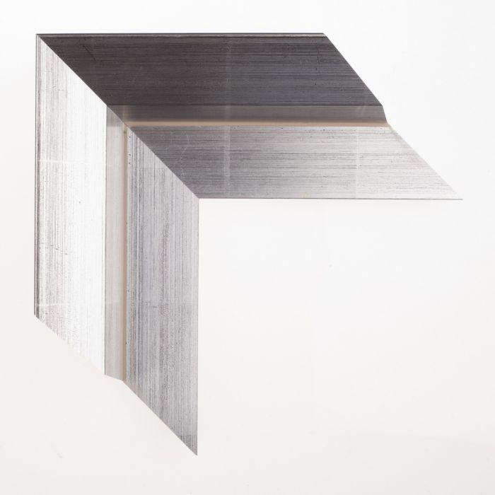 Houten lijst -  BAKLIJST IV - Zilver baklijst t breed 89 mm
