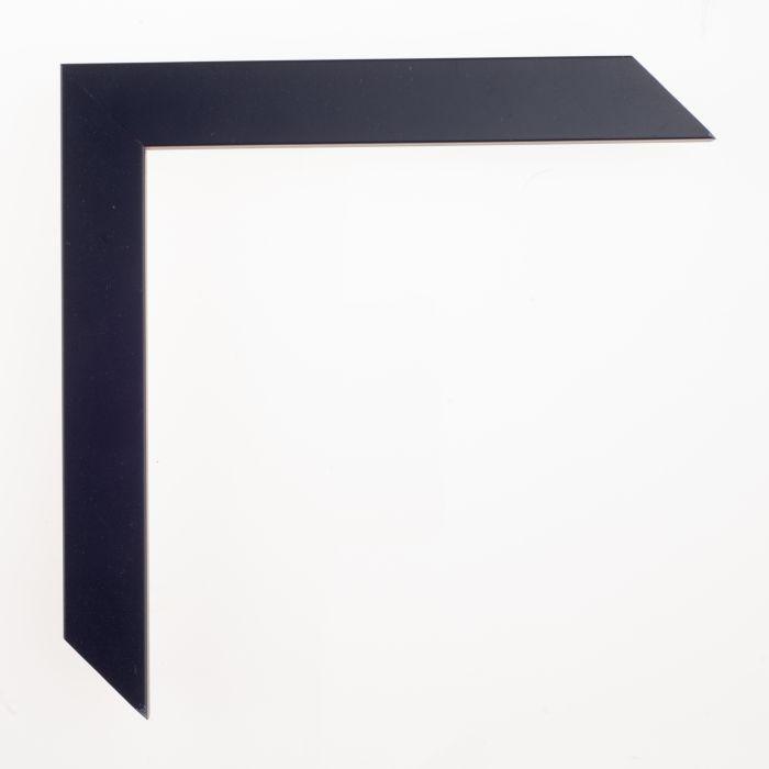 Houten lijst -  CONFETTI - Dark Blue Cube breed 23 mm
