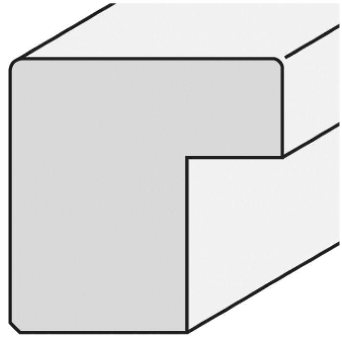 Houten lijst - CONFETTI - Green Cube breed 23 mm