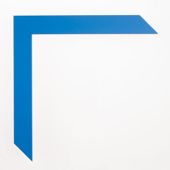 Houten lijst -  CONFETTI - Light Blue Cube breed 23 mm