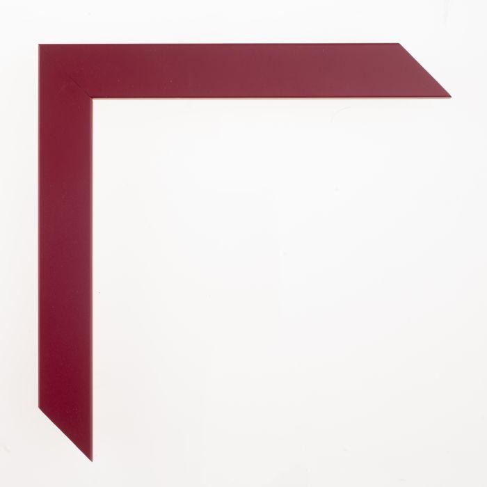 Houten lijst -- CONFETTI - Maroon Cube 23 mm