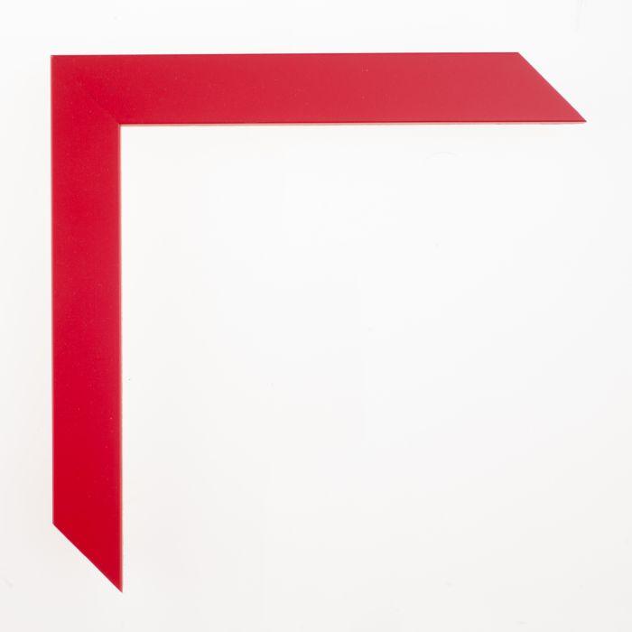 Houten lijst -- CONFETTI - Red Cube rood 23 mm