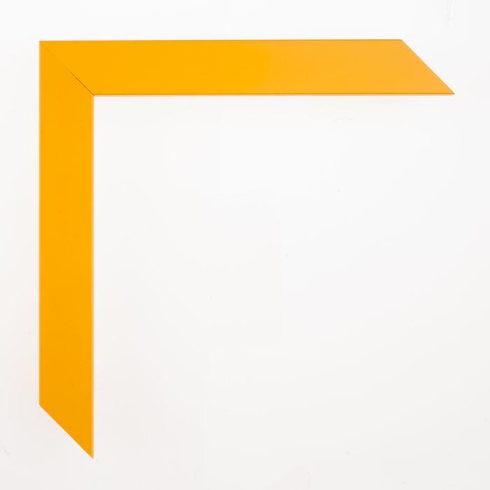 Houten lijst -  CONFETTI - Yellow Cubel  23 mm