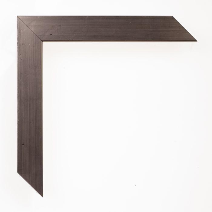Houten lijst - FERROSA - Pewter 25 mm