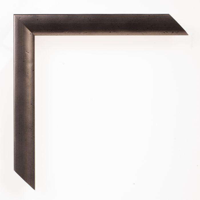 Houten lijst - FERROSA - Pewter  tin breed 20 mm