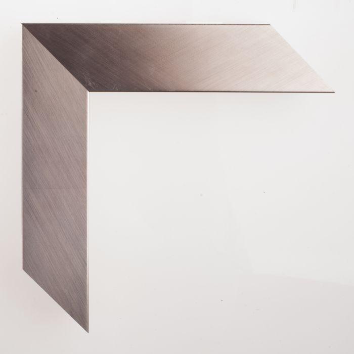 Houten lijst - GRAMERCY - Brushed silver