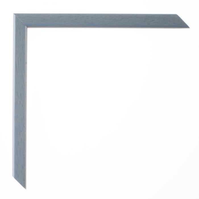 Houten lijst  LA PALETTE I - Blauw grijs breed 13 mm