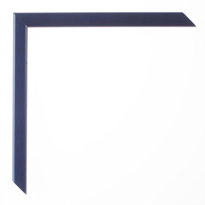 Houten lijst - LA PALETTE I - Donker blauw breed 13 mm