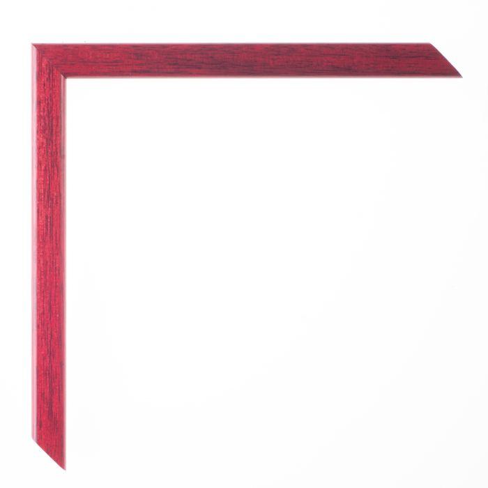 Houten lijst -  LA PALETTE I - Rood  breed 13 mm