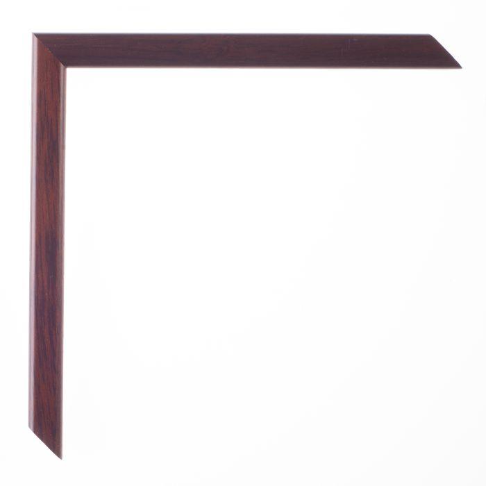Houten lijst -  LA PALETTE I - Walnoot bruin breed 13 mm