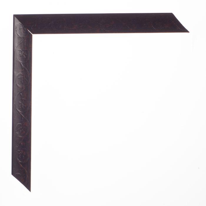 Houten lijst -  PETITE - Black zwart breed 19 mm