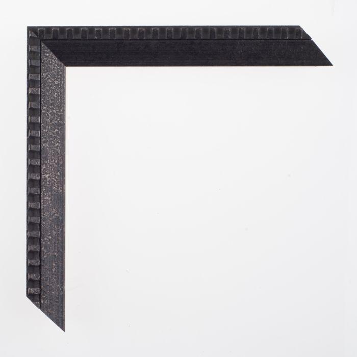 Houten lijst -  SOFIA - Slope iron black 21 mm