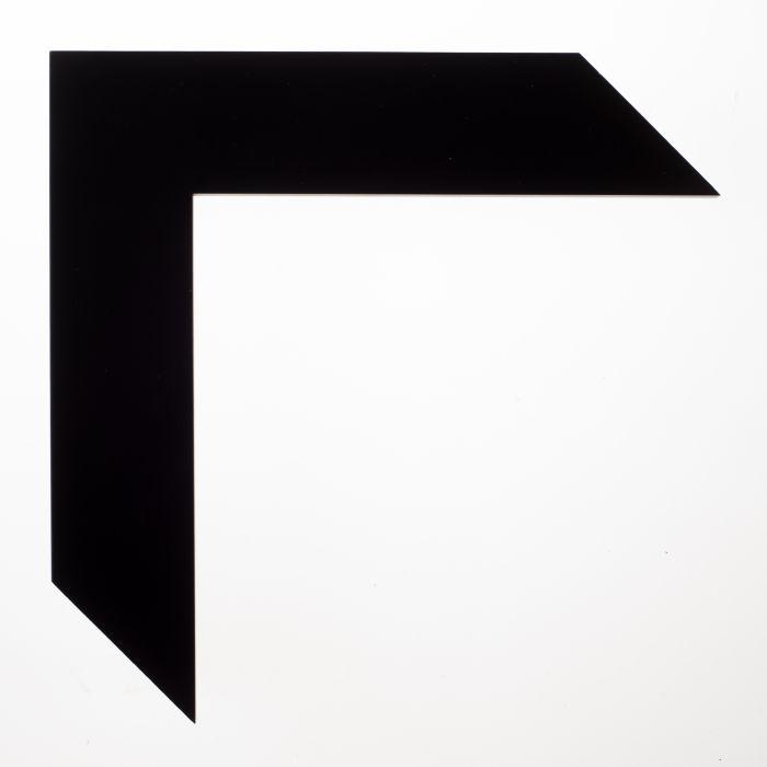 Houten lijst - TRIBECA - Black large cubet 40 mm