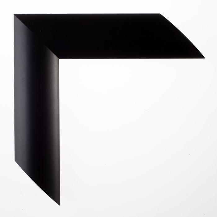 Houten lijst - TRIBECA - Black large round  zwart  breed 46 mm
