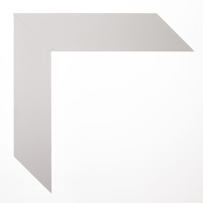 Houten lijst  - TRIBECA - White large cube 40 mm
