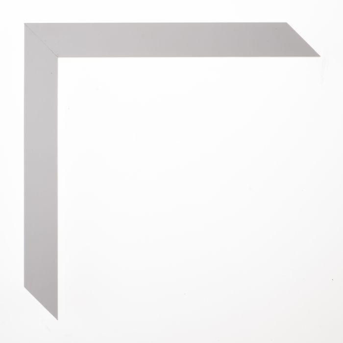 Houten lijst -  TRIBECA - White squaret  20 mm