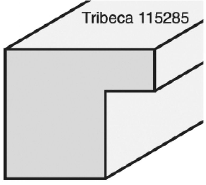 Tribeca small square breed 15 mm