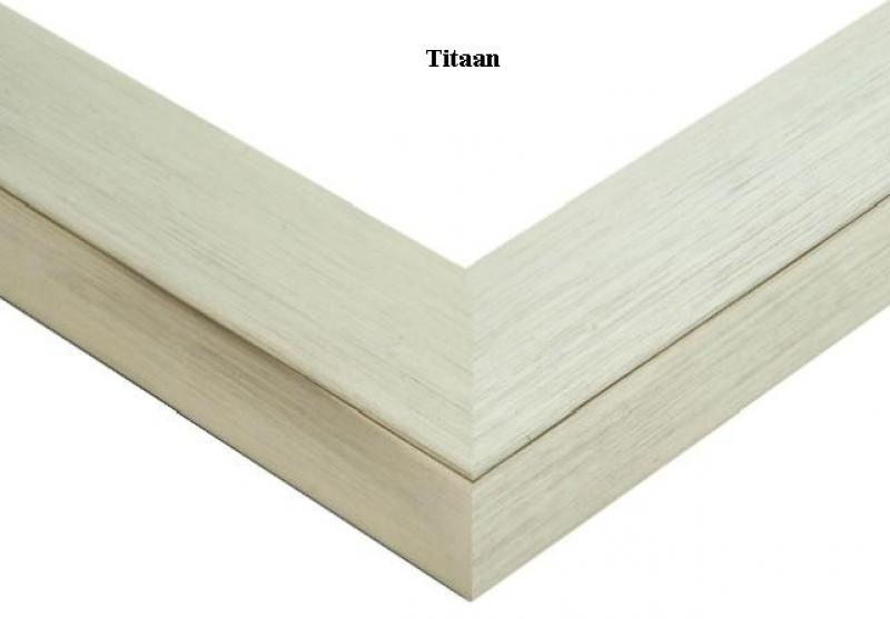 Aluminium wissellijst Alu Breed PRO titaan