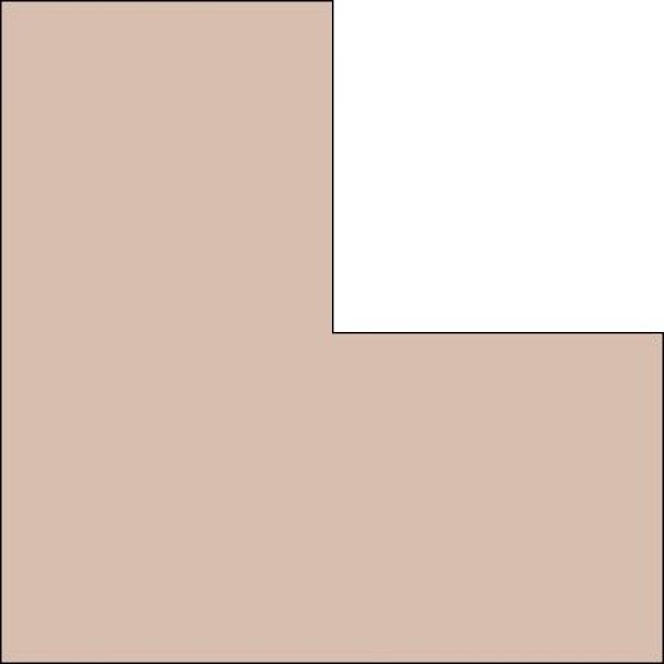 Artique Dusky Pink (licht bruin met rose) A4953