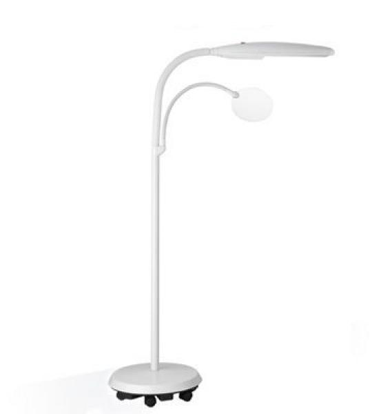 Daylight Swan Vloerlamp wit
