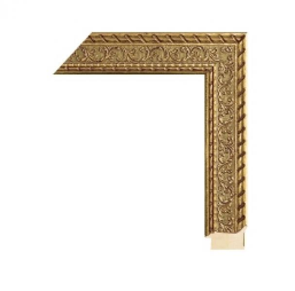 Houten lijst -  - CHATEAU - Florentine gold  breed 55 mm