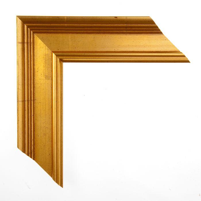 Houten lijst -  ACADEMIE - Gold breed 53 mm