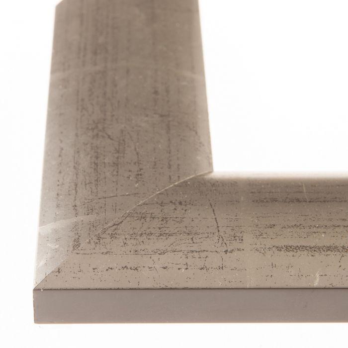 Houten lijst -  ESSENTIAL I - Zilver breed 56 mm