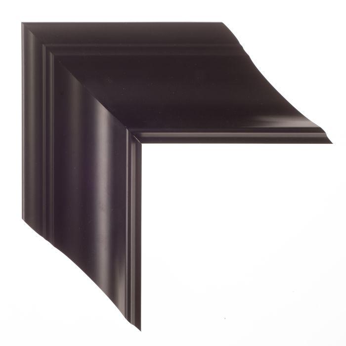 Houten lijst - - ESSENTIAL II - Zwart klassiek breed 92 mm