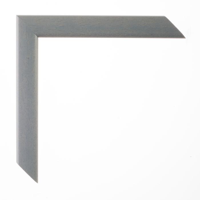 Houten lijst - LA PALETTE II - Blauw grijs breed 23 mm