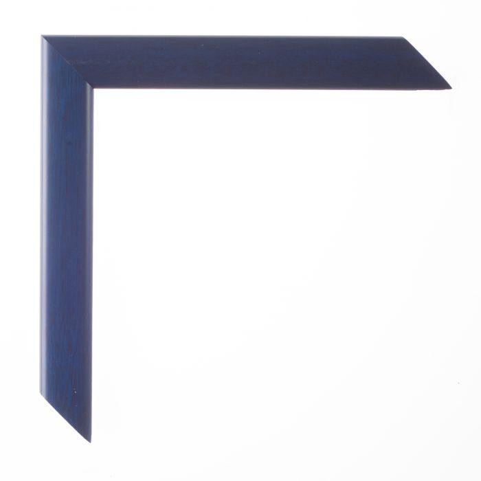 Houten lijst -  - LA PALETTE II - Donker blauw  breed 23 mm