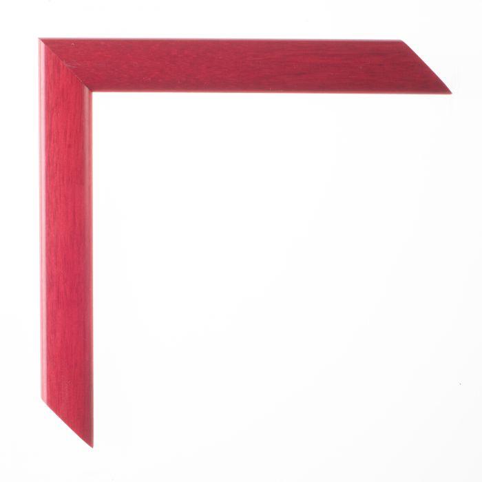 Houten lijst -  LA PALETTE II - Rood breed 23 mm