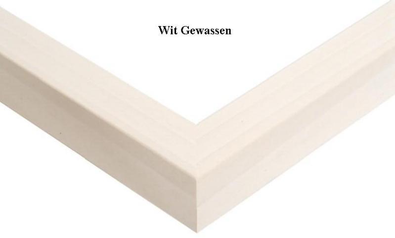 """Houten wissellijst """"Image 91""""wit gewassen"""